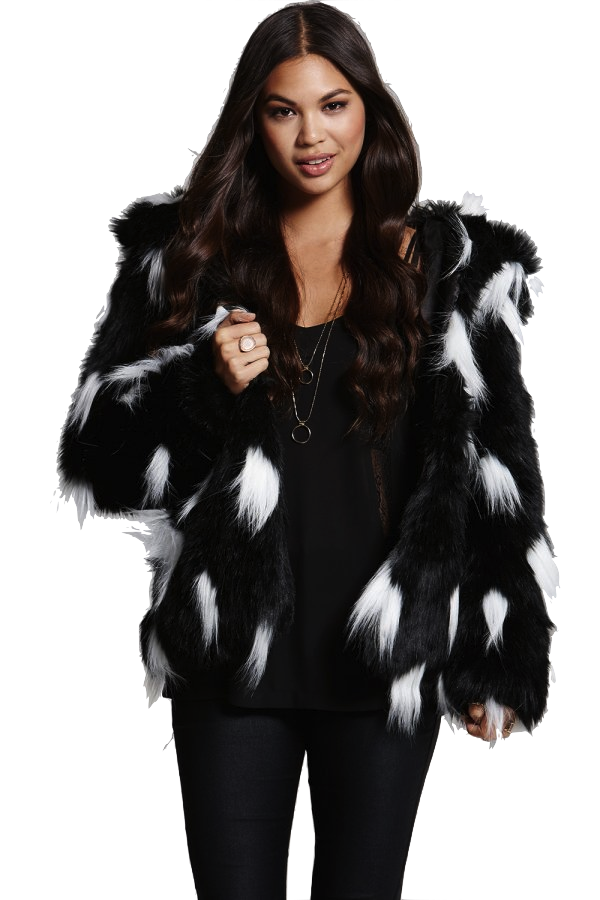 Find great deals on eBay for black and white faux fur coat. Shop with confidence.